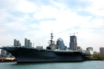 Best Western San Diego/Miramar Hotel - USS Midway Museum is an aircraft carrier turned museum.