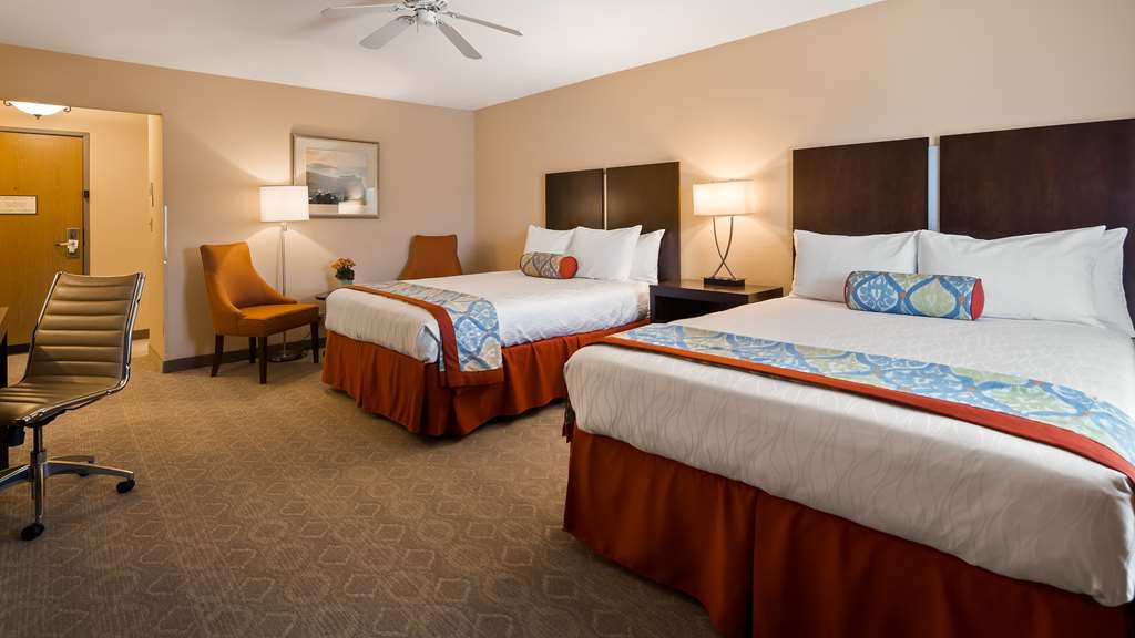 Best Western Plus Monterey Inn - Make yourself at home in our two queen guest room.
