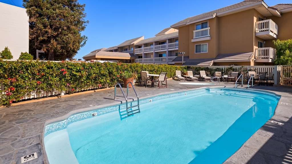 Best Western Plus Monterey Inn - Soak up the sun while relaxing in our outdoor pool.