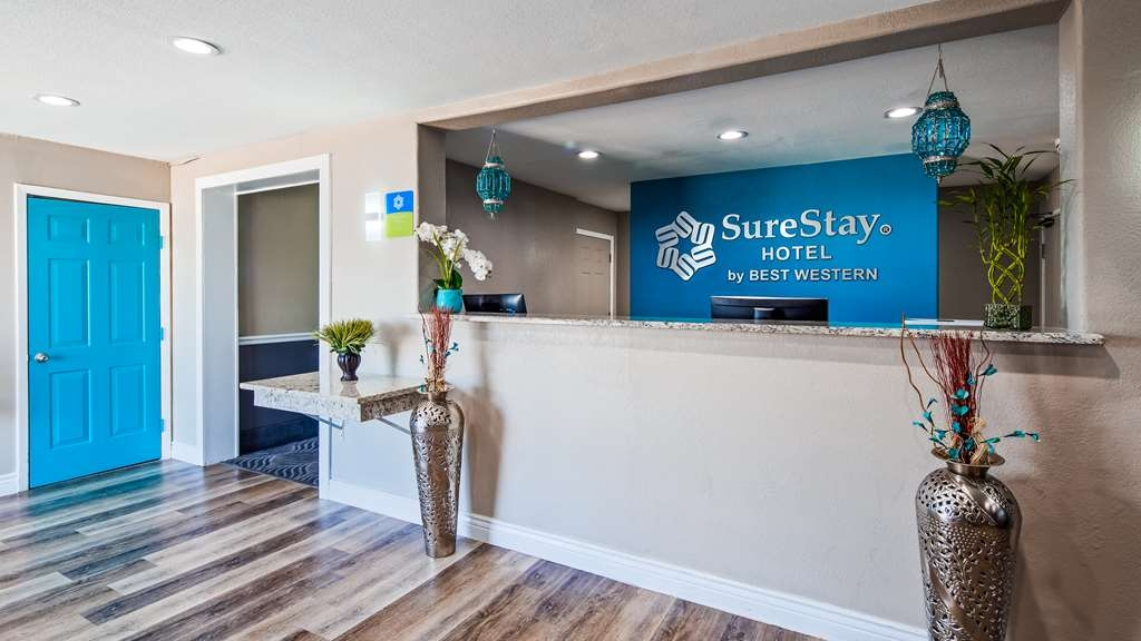 SureStay Hotel by Best Western San Antonio Northeast - Vue du lobby