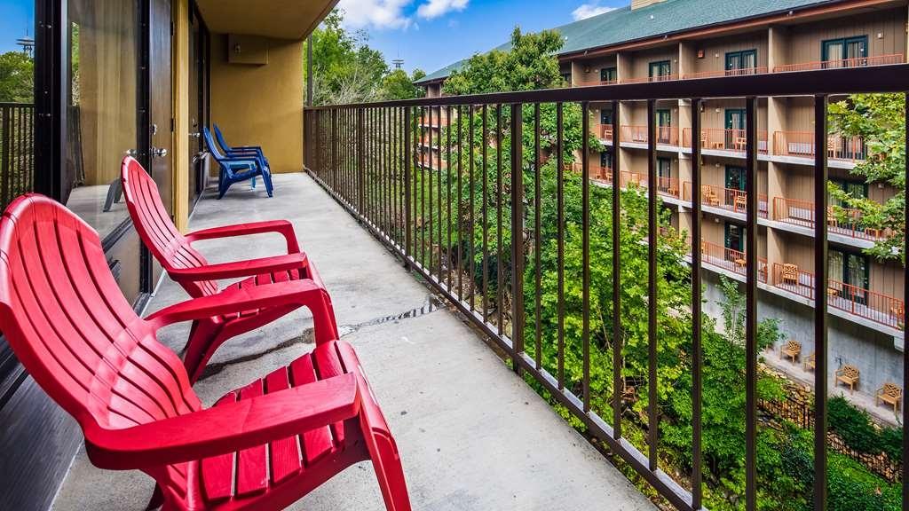SureStay Plus Hotel by Best Western Gatlinburg - Read a book or enjoy Gatlinburg while sitting outside on your hotels balcony.