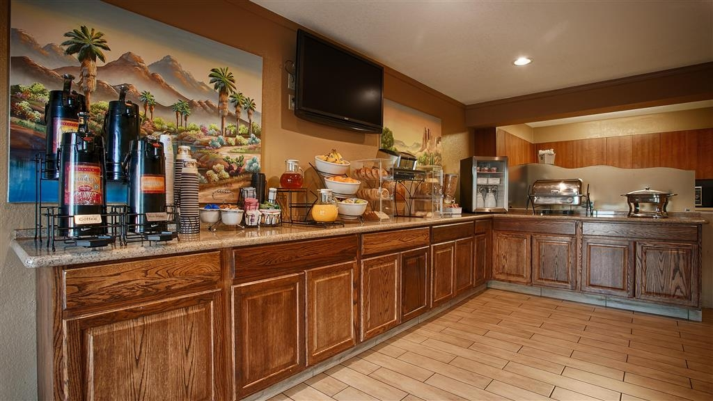 Best Western Gardens Hotel at Joshua Tree National Park - Desayuno Buffet