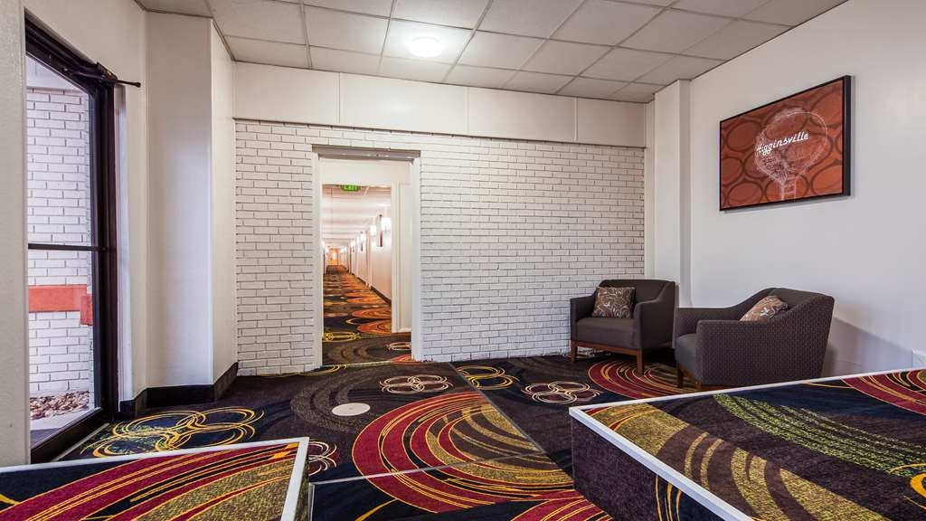 SureStay Hotel by Best Western Higginsville - Vista del vestíbulo