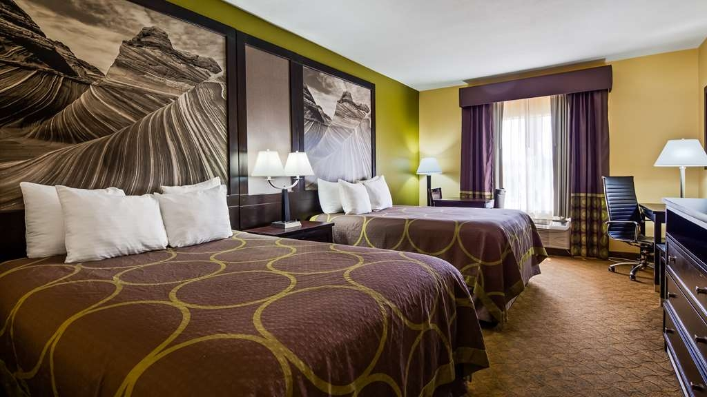SureStay Plus Hotel by Best Western Alvin - We offer a variety of 2 queen rooms from standard to mobility accessible.