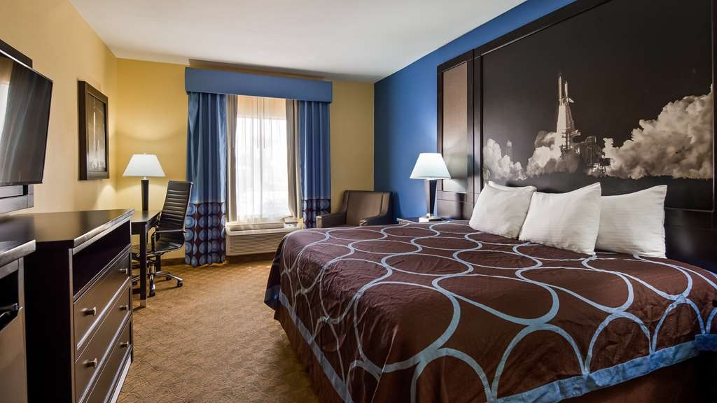 SureStay Plus Hotel by Best Western Alvin - We offer a variety of king rooms from standard to mobility accessible.