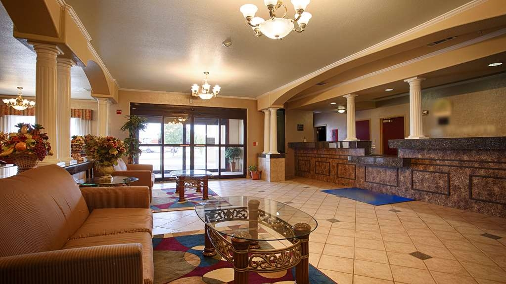 SureStay Plus Hotel by Best Western Quanah - Vue du lobby