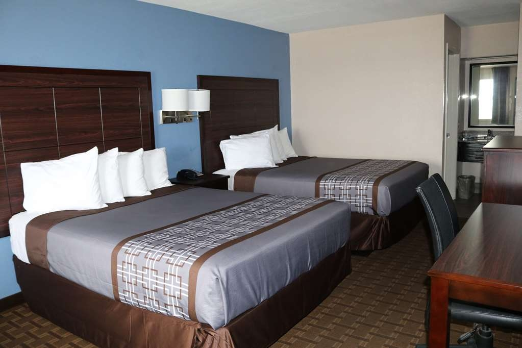 SureStay Hotel by Best Western Terrell - This 2 queen bedroom includes a flat-screen TV, microwave, mini-fridge, and more!