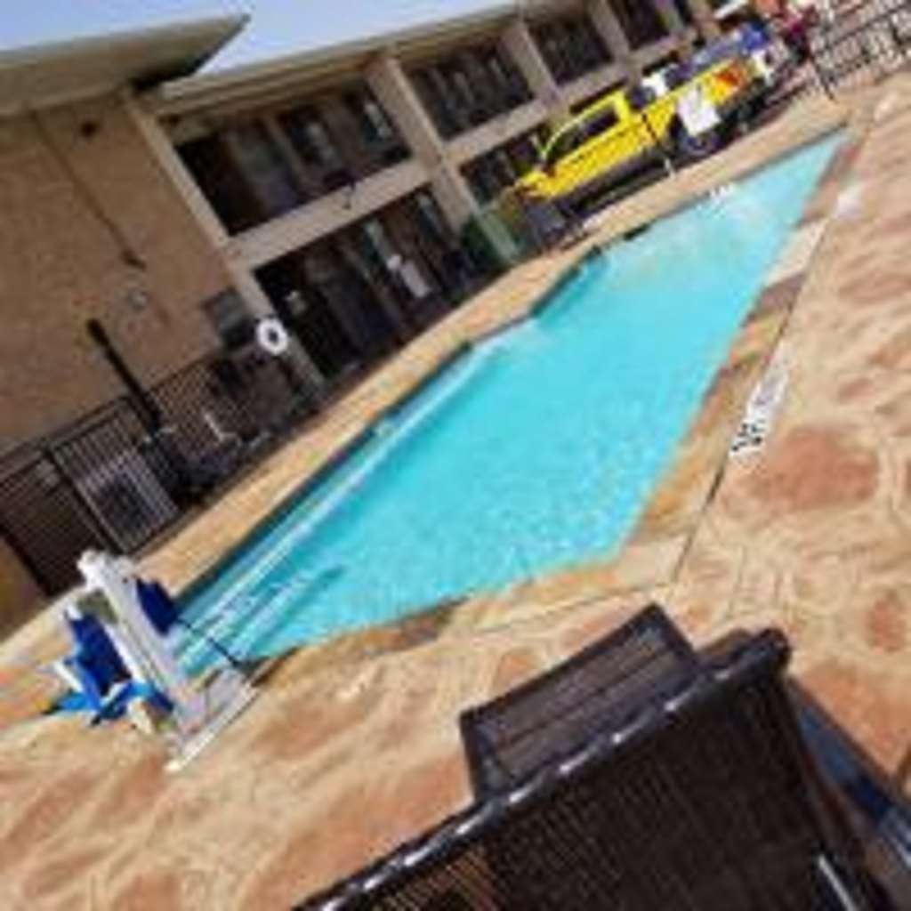 SureStay Hotel by Best Western Terrell - Jump into our outdoor pool and swim a couple of laps.