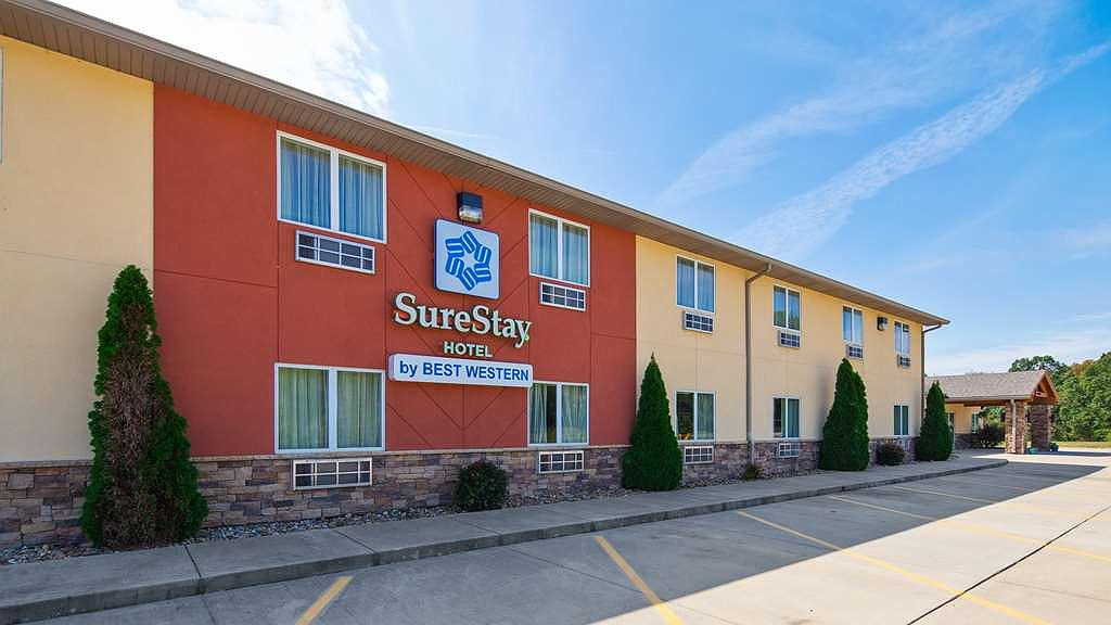 SureStay Hotel by Best Western Whittington Rend Lake - Aussenansicht