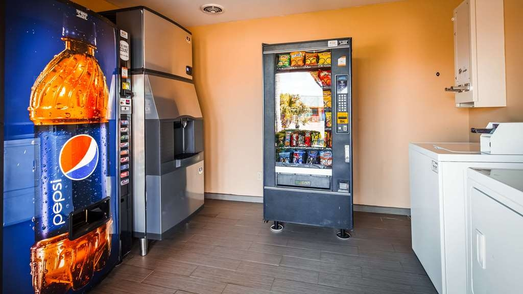 SureStay Hotel by Best Western Falfurrias - Property Amenities include Vending Machines, Ice Machine and Guest Laundry Room