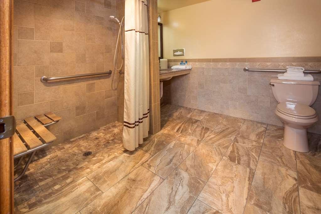 Best Western Plus Yosemite Gateway Inn - H K Roll in Accessible King Roll in Shower photo