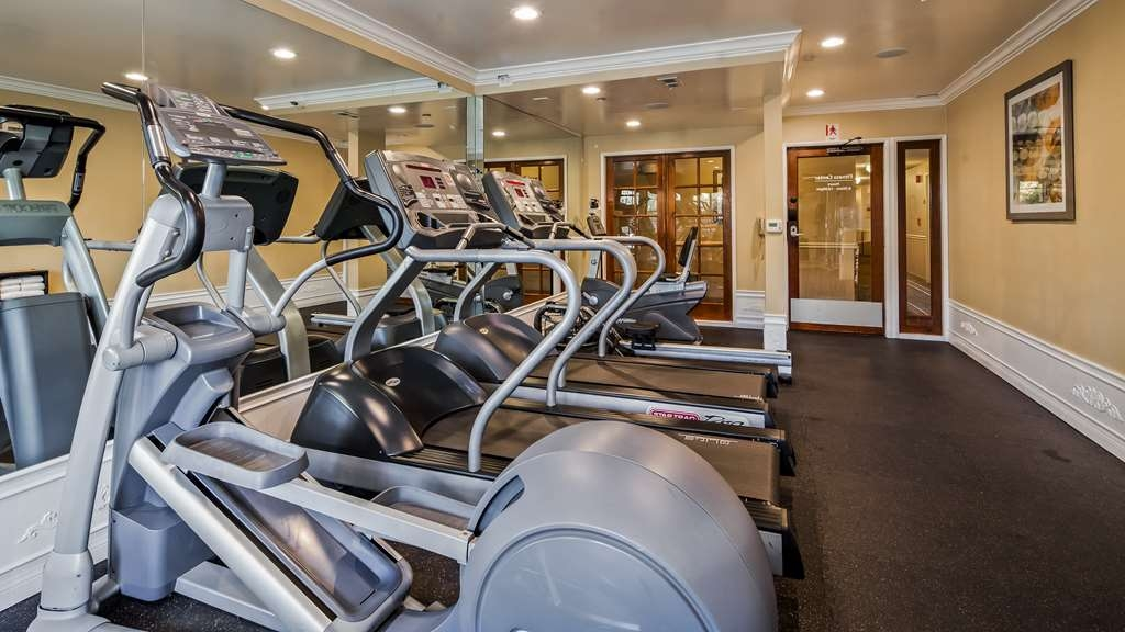 Best Western Plus Carpinteria Inn - Fitnessstudio