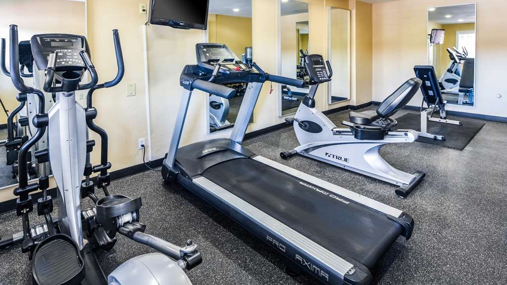 Best Western Desert Villa Inn - Fitnessstudio