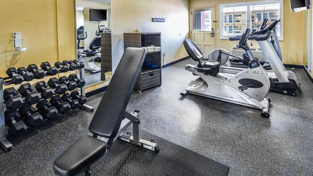 Best Western Desert Villa Inn - Best Western Barstow fitness center