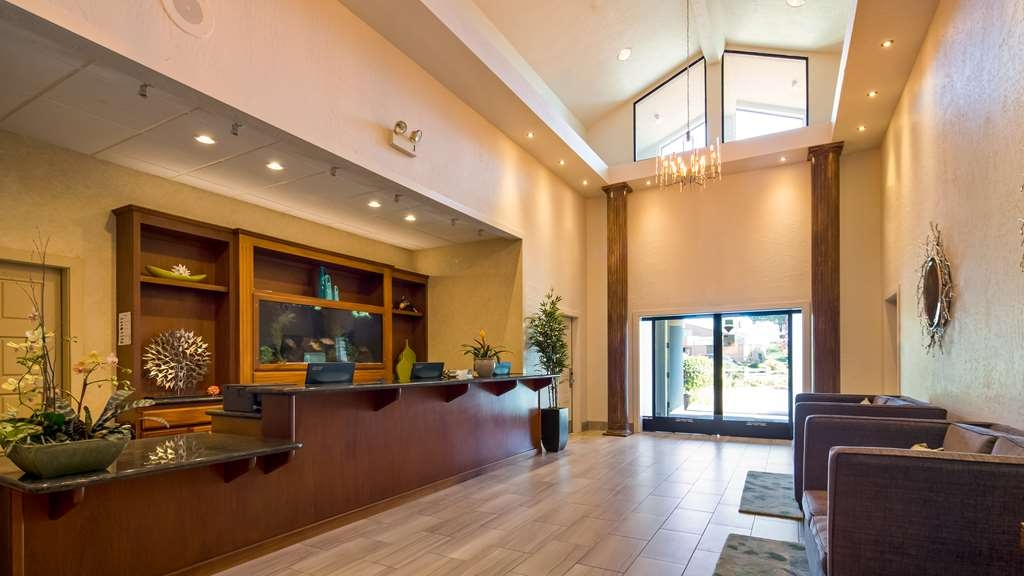 Best Western Seacliff Inn - Vue du lobby