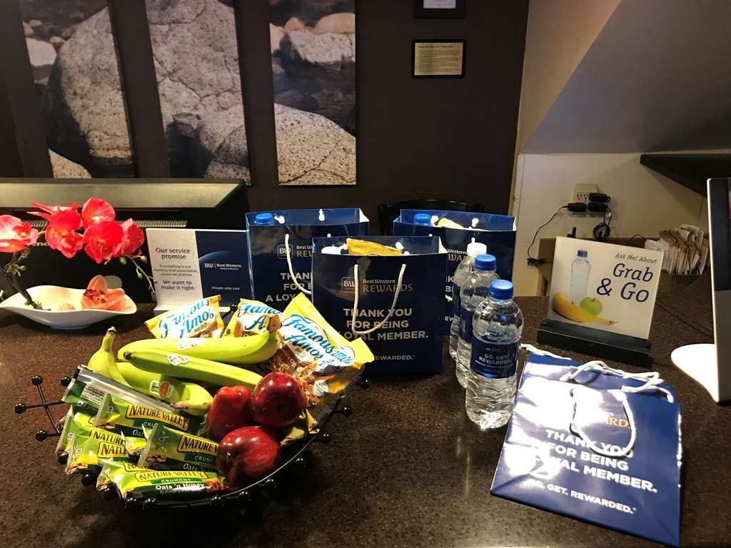Best Western Plus Northwoods Inn - Grab and Go and Rewards Recognition