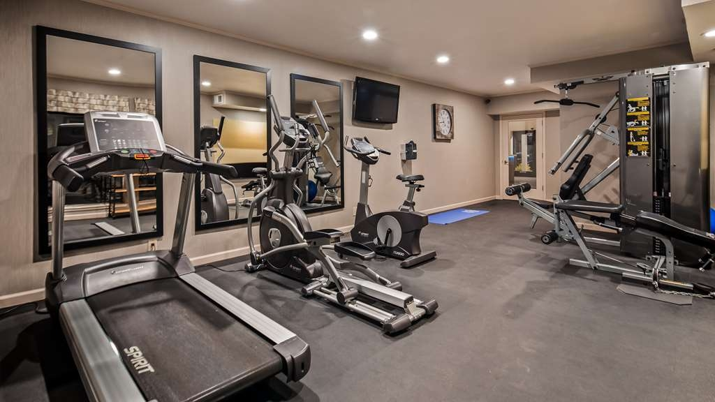 Best Western Plus Inn Scotts Valley - Fitnessstudio