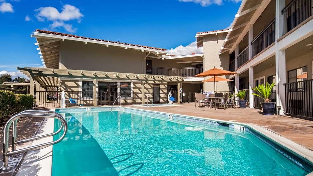 Best Western Plus Inn Scotts Valley - Vue de la piscine