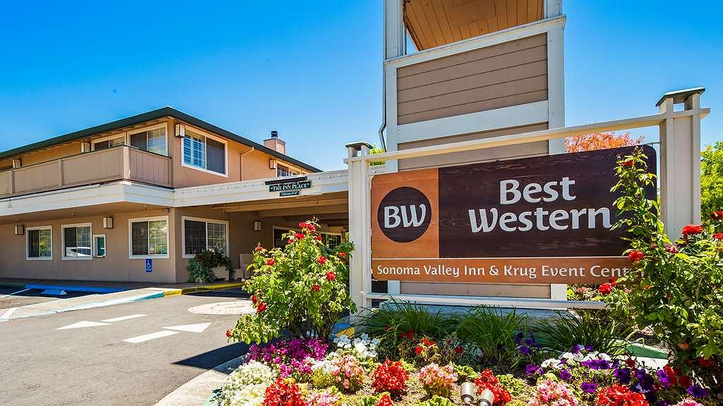 Best Western Sonoma Valley Inn & Krug Event Center - Facciata dell'albergo