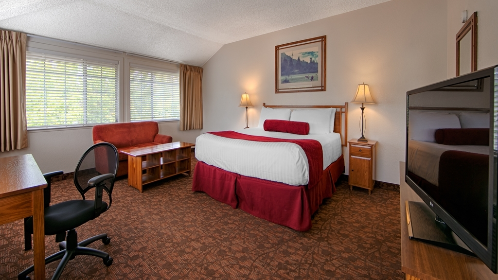 Best Western Sonoma Valley Inn & Krug Event Center - At the end of a long day, relax in our clean, fresh King Guest Room