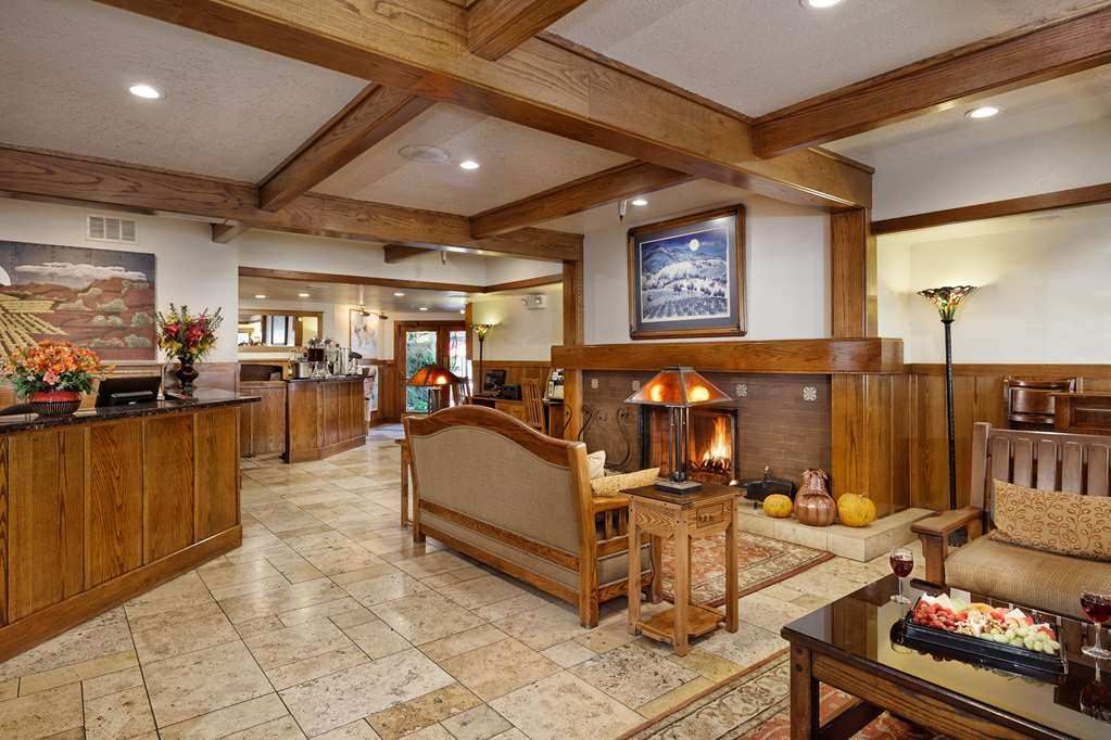 Best Western Sonoma Valley Inn & Krug Event Center - Sonoma Valley Inn Lobby