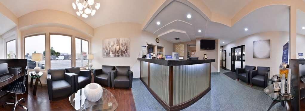 Best Western Airport Plaza Inn - Vue du lobby