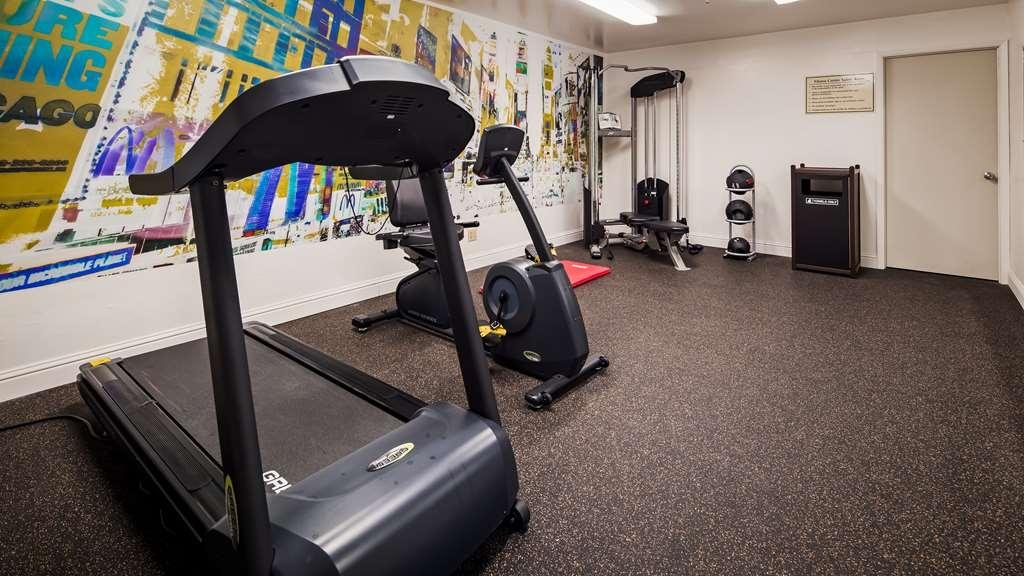 Best Western Heritage Inn - Fitnessstudio