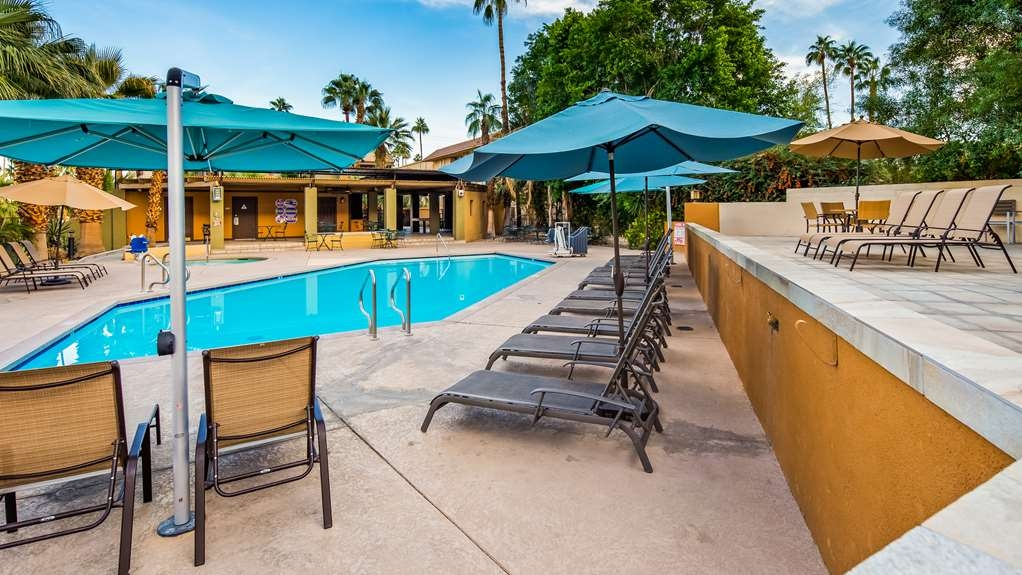 Best Western Inn at Palm Springs - Pool view