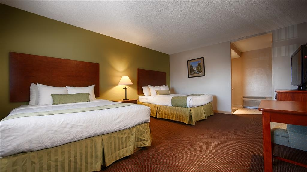 Best Western Inn - If you're looking for a little extra space to stretch out and relax, book one of our Two Queen Guest Room.
