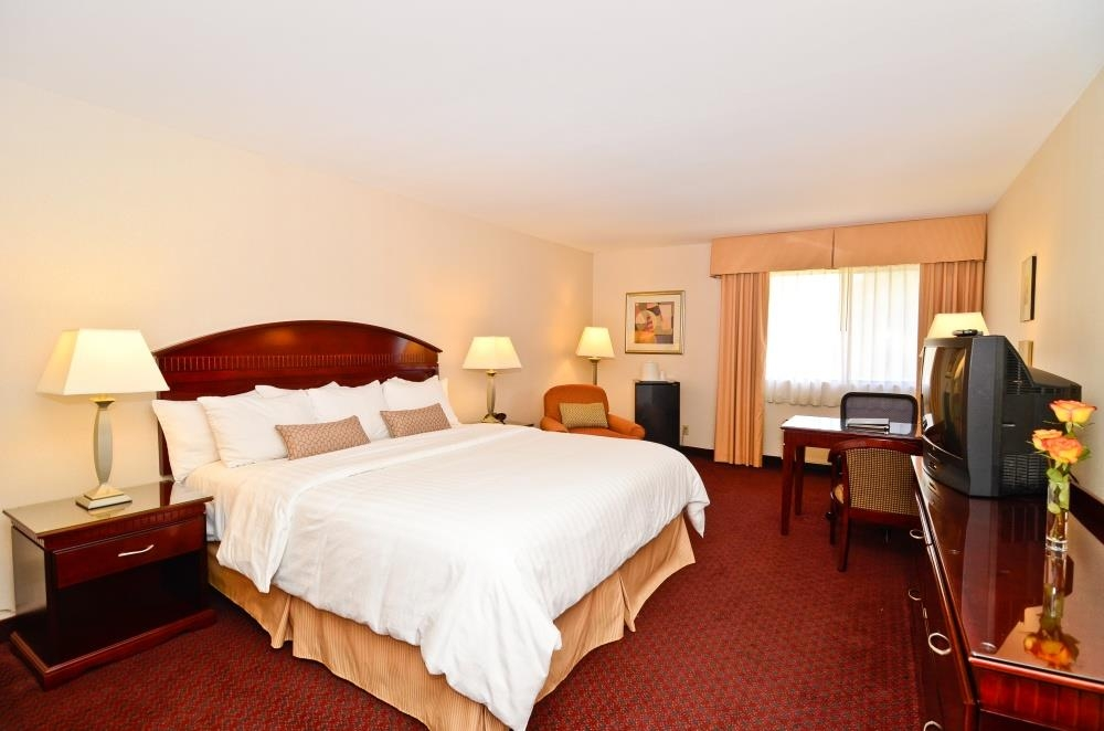 Best Western Plus West Covina Inn - Ampia camera con letto king size