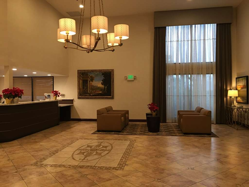 Best Western Plus West Covina Inn - Lobby and Front Desk Area