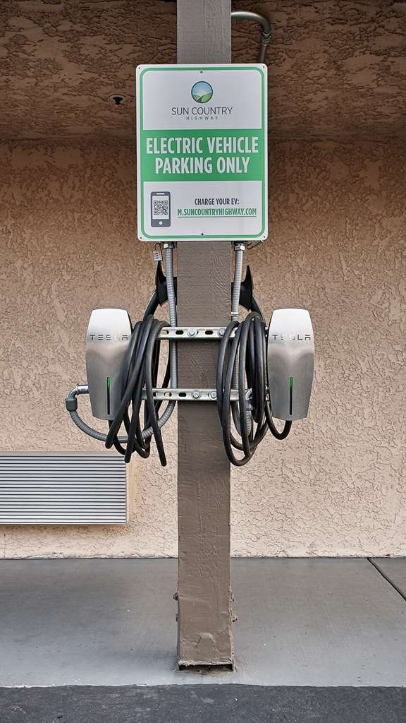 Best Western Plus Executive Inn - Electric vehicle drivers will feel welcome with our electric vehicle charging station.