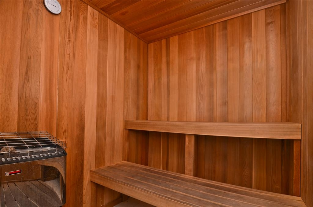 Best Western Plus All Suites Inn - Relax in our sauna after a long day of traveling.