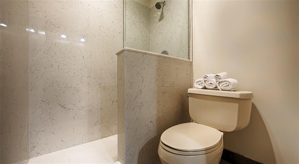 Best Western Plus All Suites Inn - We've upgraded our bathrooms with your comfort in mind.