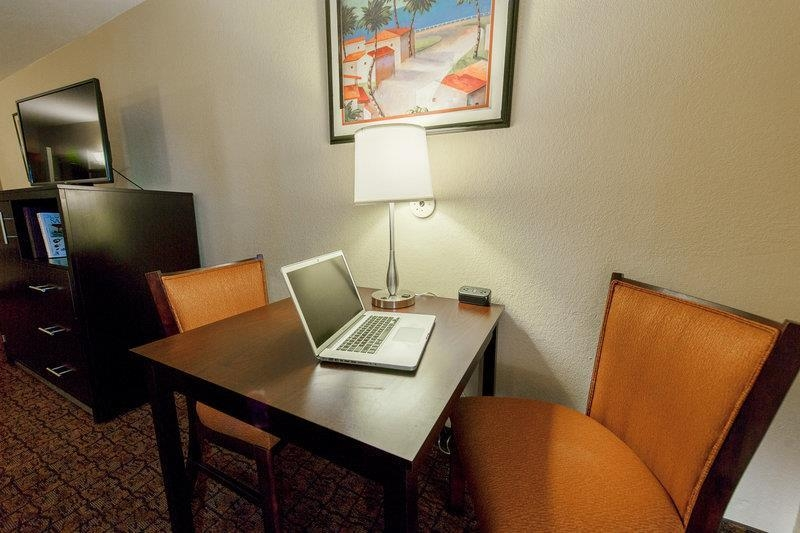 Best Western Escondido Hotel - Desk Work Area and 42-inch TV
