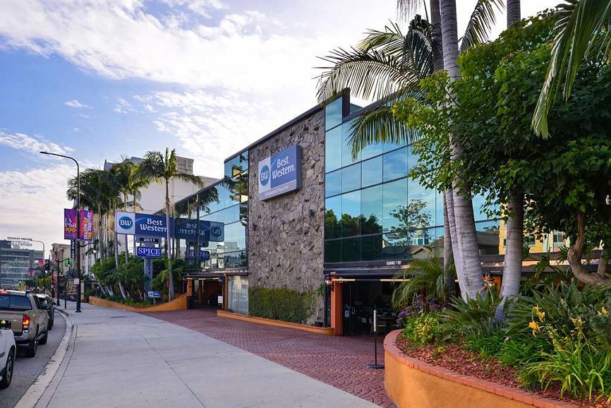 Best Western Hollywood Plaza Inn - Façade