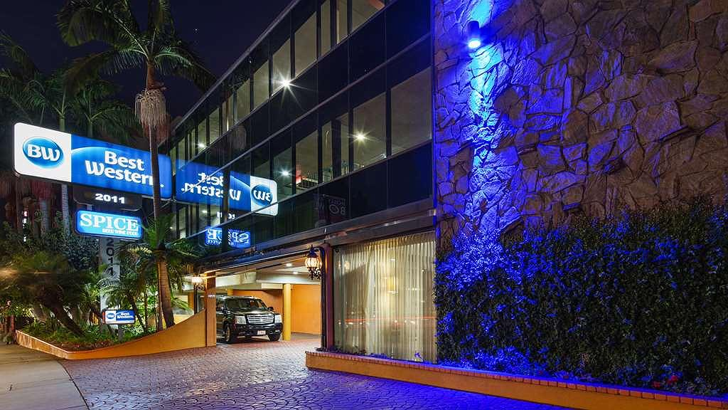 Best Western Hollywood Plaza Inn-Hollywood Walk of Fame Hotel-LA - Vue extérieure