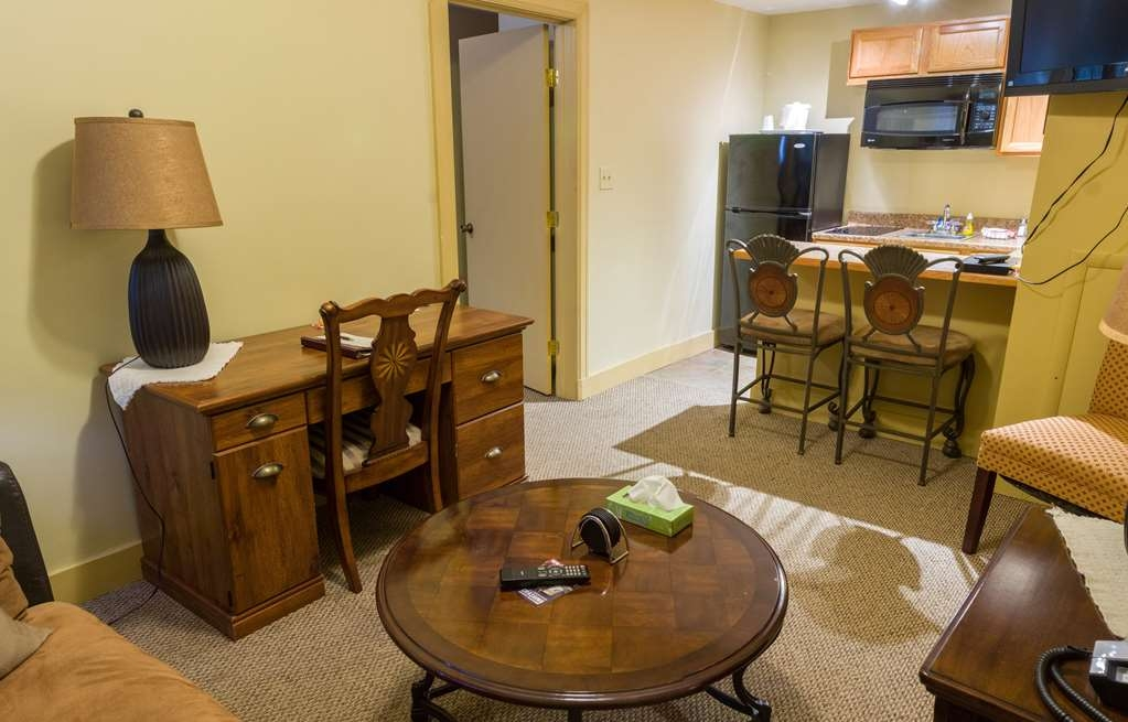 SureStay Collection by Best Western Genetti Hotel - Make yourself at home in this 2 Room Suite 1 Bed with Kitchenette.