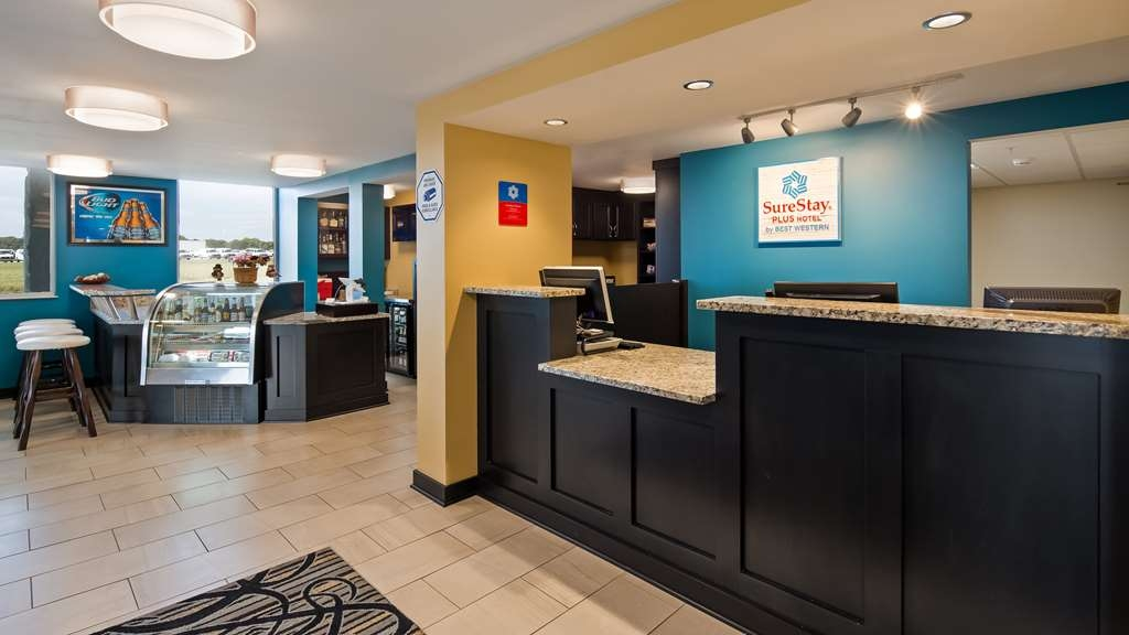 SureStay Plus Hotel by Best Western Jasper - Make sure you visit our front desk staff for check in and check out assistance.
