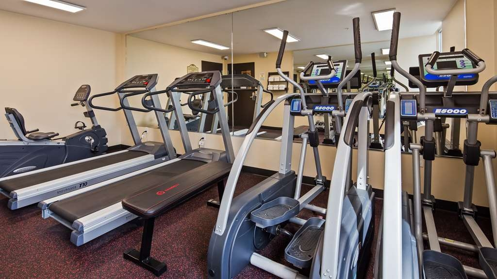 SureStay Plus Hotel by Best Western Jasper - Our fitness center is outfitted with everything you need for a great workout.