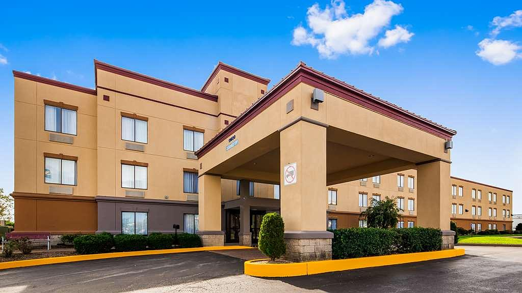 SureStay Plus Hotel by Best Western Evansville - Vista exterior