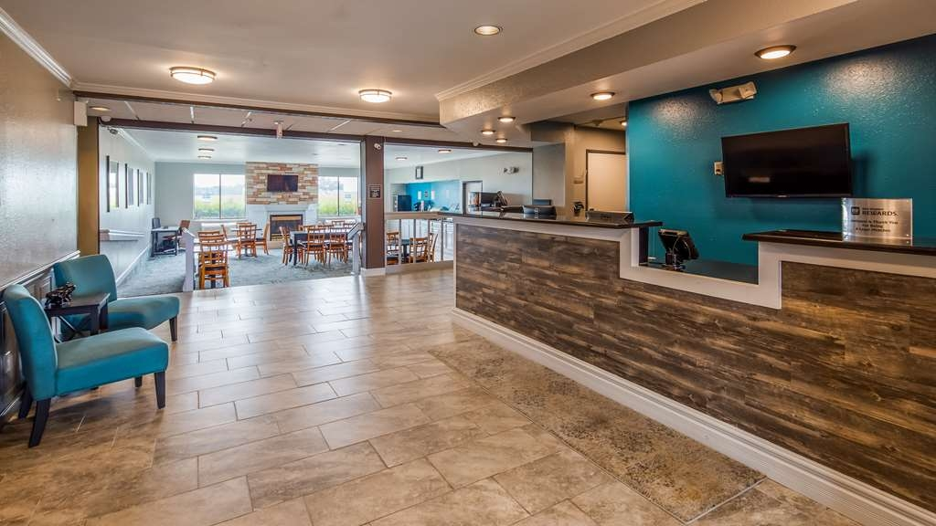SureStay Plus Hotel by Best Western Evansville - Our front desk is happy to provide all the comforts of home for you during your stay.