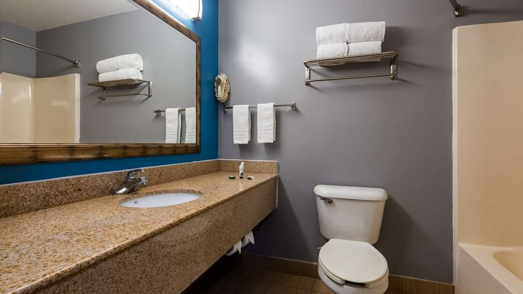 SureStay Plus Hotel by Best Western Evansville - Make a reservation in any of our guest rooms featuring newly renovated bathrooms.