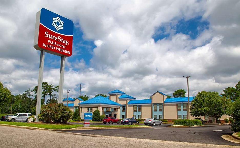 SureStay Plus Hotel by Best Western Tarboro - Front of the Hotel
