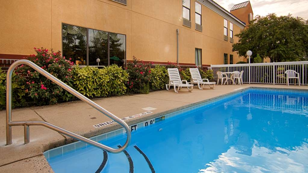 SureStay Plus Hotel by Best Western Tarboro - Jump into our outdoor pool for a swim anytime of the day.
