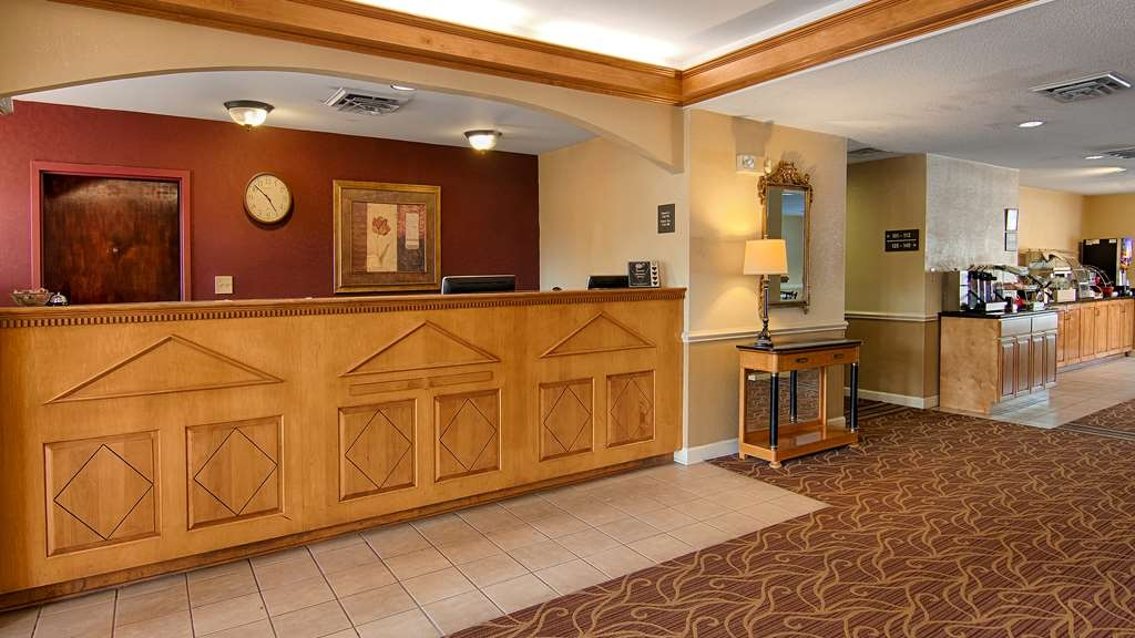 SureStay Plus Hotel by Best Western Tarboro - Our front desk is happy to provide all the comforts of home for you during your stay.