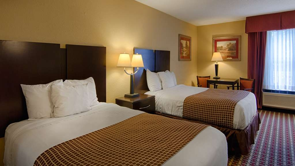 SureStay Plus Hotel by Best Western Tarboro - Guest Room with Two Double Beds