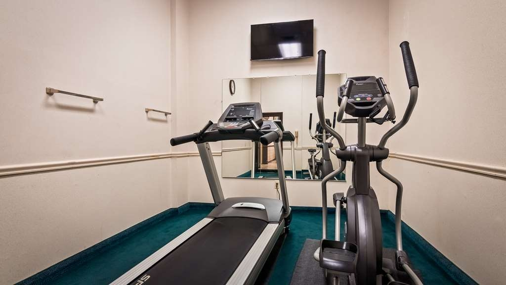 SureStay Hotel by Best Western Bellmawr - Our fitness center is outfitted with everything you need for a great workout.