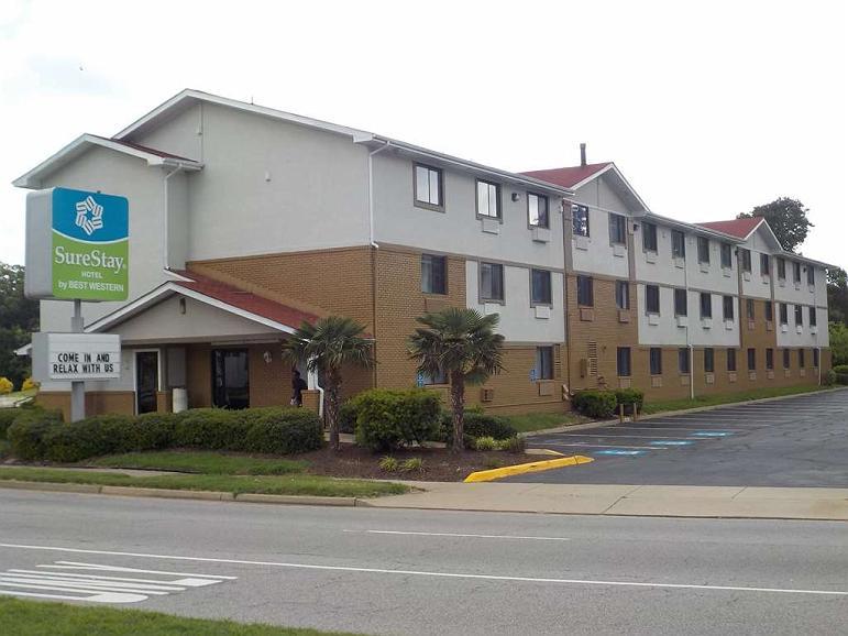 SureStay Hotel by Best Western Norfolk Little Creek - Vista exterior