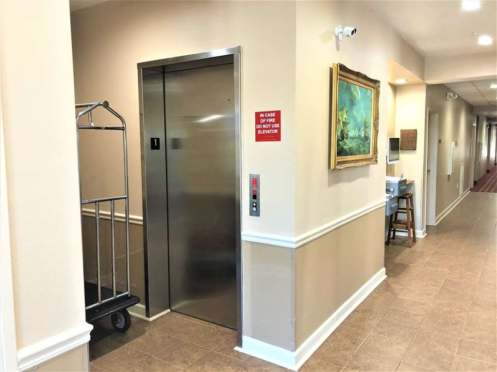SureStay Hotel by Best Western Shallotte - We strive our best to provide you safety and convenience with our interior corridor and elevator.